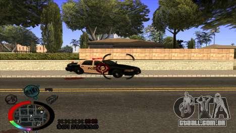 C-Hud Rainbow by HARDy para GTA San Andreas terceira tela