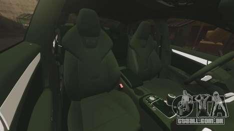 Audi S4 ANPR Interceptor [ELS] para GTA 4 vista superior