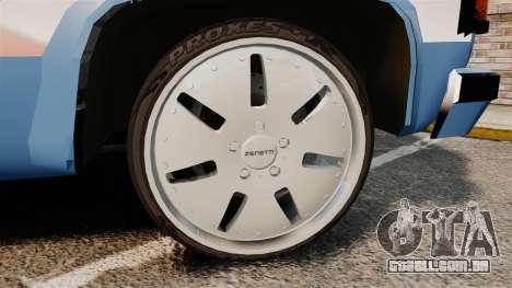 Chevrolet D-20 Custom para GTA 4 vista de volta