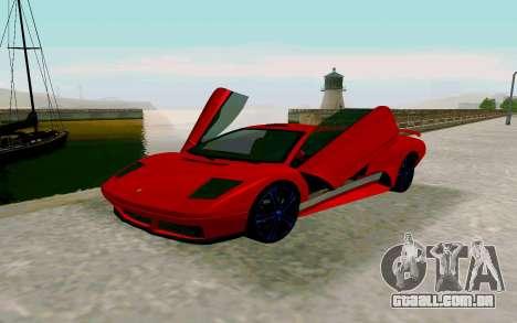 GTA V Pegassi Infernus para GTA San Andreas