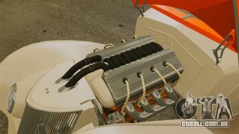 Ford Roadster 1936 Chip Foose 2006 para GTA 4 vista de volta