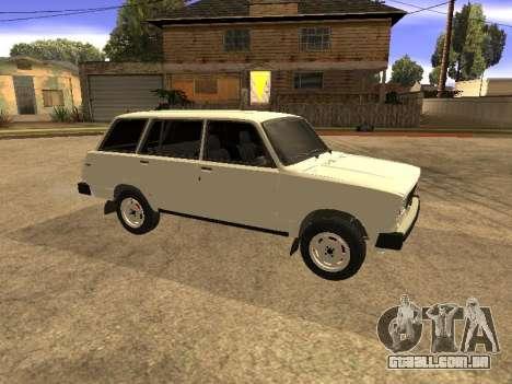 VAZ 2104 para GTA San Andreas vista direita