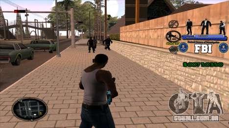C-HUD FBI para GTA San Andreas segunda tela