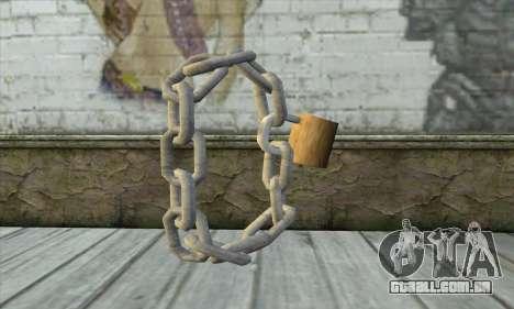 Cadeia para GTA San Andreas segunda tela
