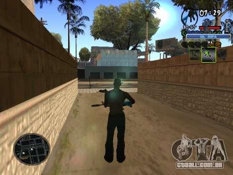 С-HUD Velho Sd para GTA San Andreas terceira tela