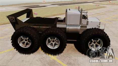 The Biggest Monster Truck para GTA 4 esquerda vista