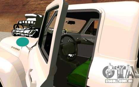 Ford FR-100 para GTA San Andreas traseira esquerda vista