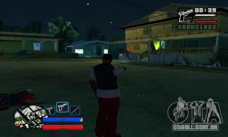 C-HUD by Fawkes para GTA San Andreas segunda tela