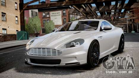 Aston Martin DBS v1.0 para GTA 4 traseira esquerda vista
