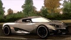 Koenigsegg CCX 2006 Autovista para GTA San Andreas