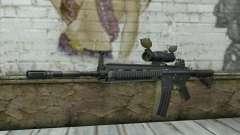 HK416 with ACOG
