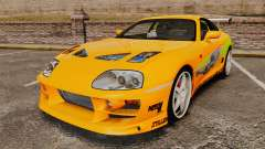 Toyota Supra RZ 1998 (Mark IV) Bomex kit para GTA 4