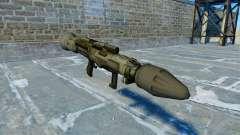 Granadas anti-tanque launcher MANDÍBULA v 2.0