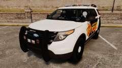 Ford Explorer 2013 LCPD [ELS] v1.5X de crossover para GTA 4