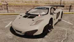 McLaren MP4-12C GT3 Blank para GTA 4