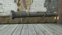 O lançador de foguetes a partir de Pstal 3