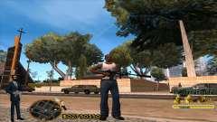 C-HUD La Cosa Nostra para GTA San Andreas