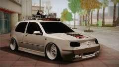 Volkswagen Golf IV Hellaflush para GTA San Andreas