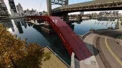 Nova ponte em East island city