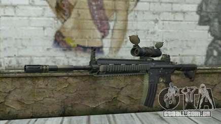 HK416 with ACOG para GTA San Andreas