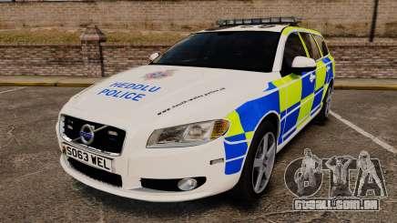 Volvo V70 South Wales Police [ELS] para GTA 4