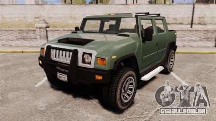 Patriot pickup para GTA 4