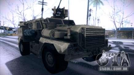 MRAP de BF4 para GTA San Andreas