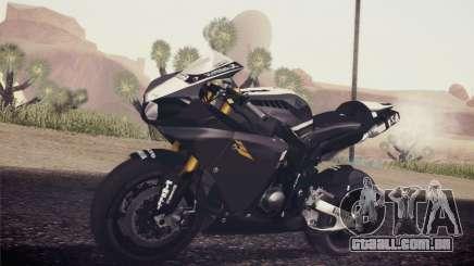 Yamaha YZF R1 2012 Black para GTA San Andreas