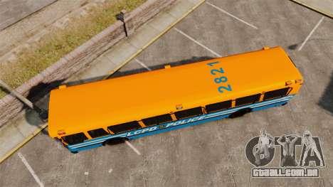 Brute Bus LCPD [ELS] v2.0 para GTA 4 vista direita