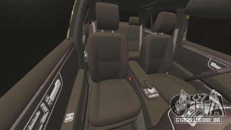 Mercedes-Benz S65 (W221) AMG para GTA 4 vista inferior