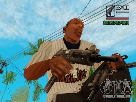 A metralhadora UZI para GTA San Andreas terceira tela