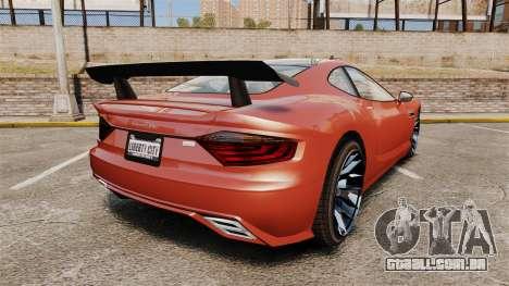 GTA V Hijak Khamelion para GTA 4 traseira esquerda vista