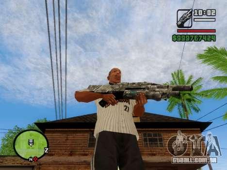 M-86 Sabre v.2 para GTA San Andreas sexta tela