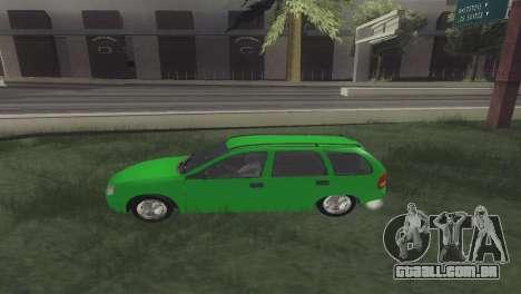 Chevrolet Corsa Wagon para GTA San Andreas esquerda vista