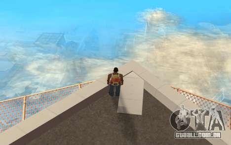Alterar o intervalo de renderização para GTA San Andreas terceira tela