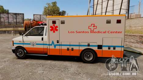 Brute LSMC Paramedic para GTA 4 esquerda vista