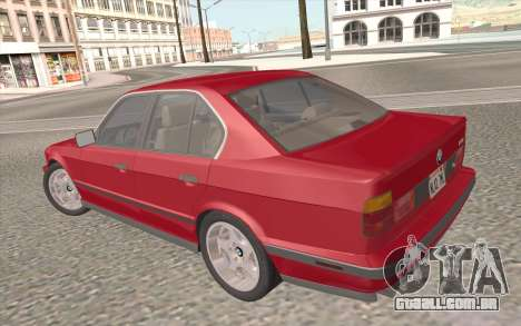 BMW M5 E34 1991 NA-spec para o motor de GTA San Andreas