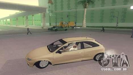 Suzuki Fun para GTA San Andreas esquerda vista