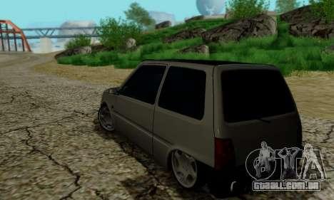 VAZ 1111 para GTA San Andreas vista interior