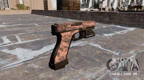Pistola Glock De 20 Red Tiger para GTA 4 segundo screenshot