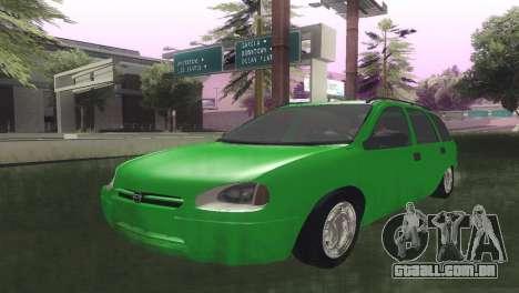 Chevrolet Corsa Wagon para GTA San Andreas