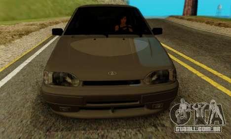 VAZ 2115 de Imóveis para GTA San Andreas esquerda vista