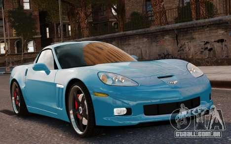 Chevrolet Corvette Grand Sport 2010 para GTA 4