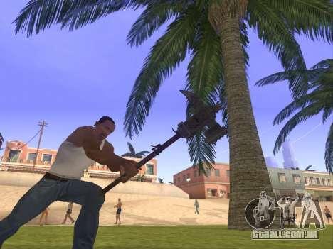 Baton Marker para GTA San Andreas segunda tela
