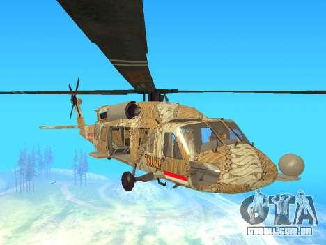 SH-60  Batik Indonesia para GTA San Andreas esquerda vista