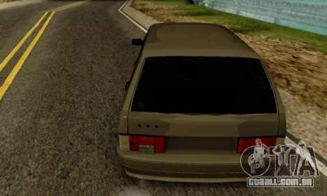 VAZ 2115 de Imóveis para GTA San Andreas traseira esquerda vista