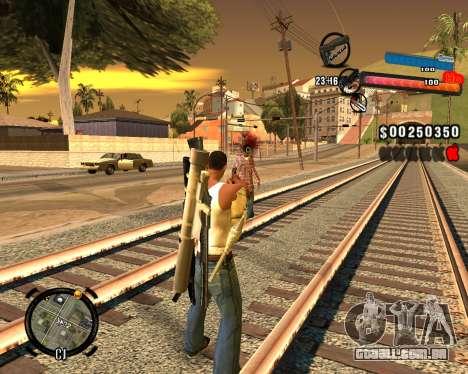 O novo C-HUD para GTA San Andreas