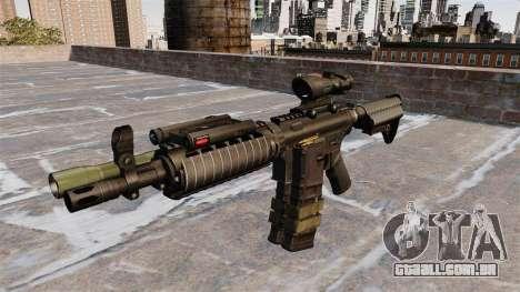 Automático carabina M4 para GTA 4