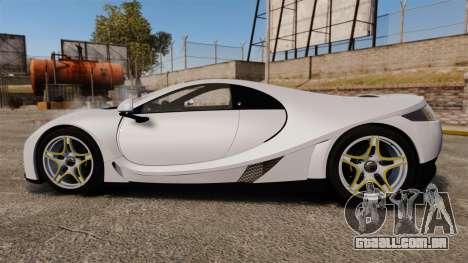 GTA Spano para GTA 4 esquerda vista