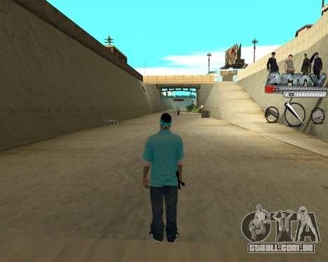 Ampliador intervalo de nicks para GTA San Andreas terceira tela